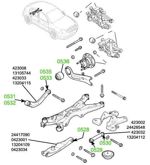 внутренний Opel Vectra-C